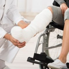 Seeing a doctor will help you determine what medical treatment you need for your leg injury