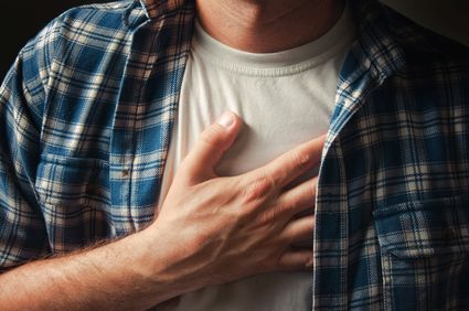 Man suffers heart attack at work