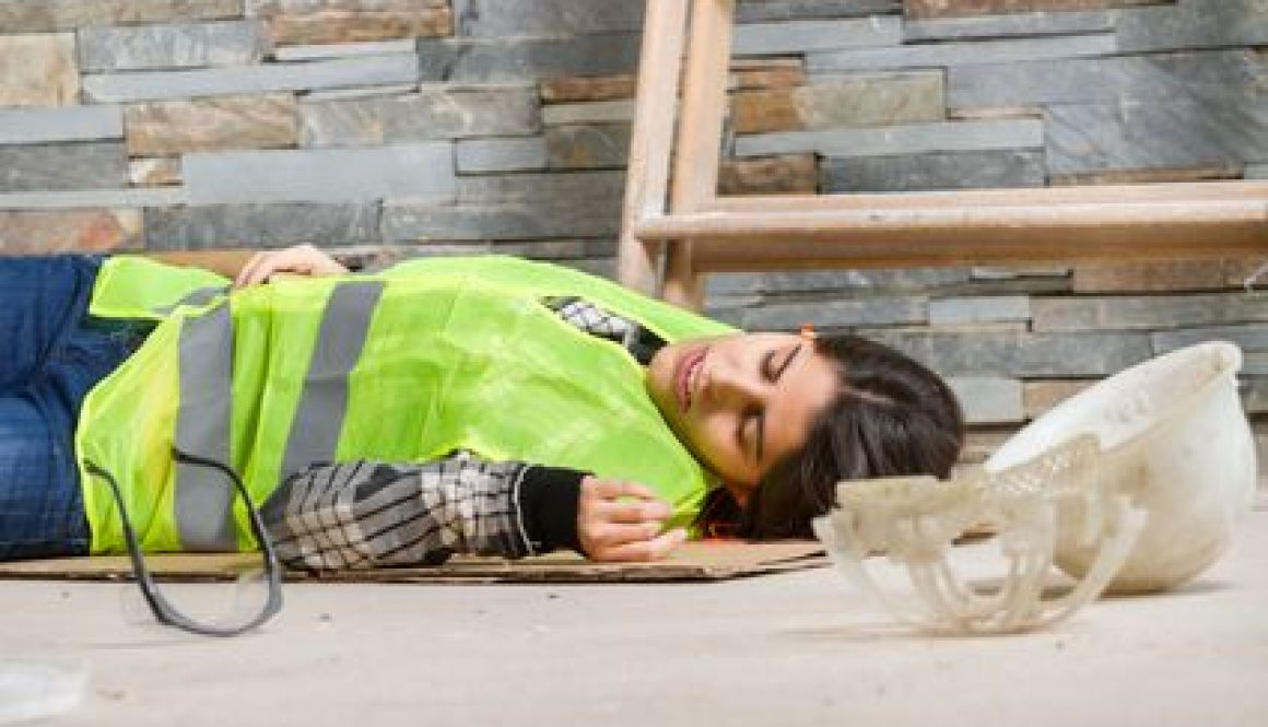 Construction work suffers idiopathic injury