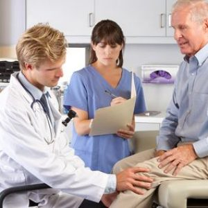 Knee injuries sometimes require knee replacement surgery