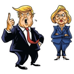 Our views about Donald Trump and Hillary Clinton in the 2016 Presidential race may give us some insight into our frame of reference