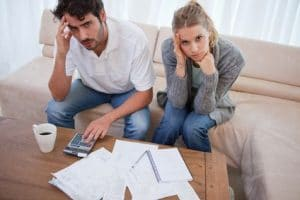 Couple worried about finances after work injury