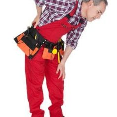 Pain from a back injury often makes it difficult to return to physically demanding work